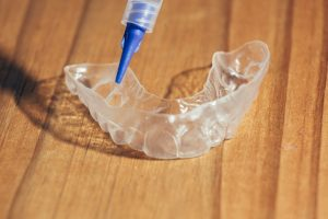 teeth whitening gel custom tray